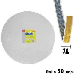 Cinta Persiana Wolfpack Bicolor 18 mm. Rollo 50 metros