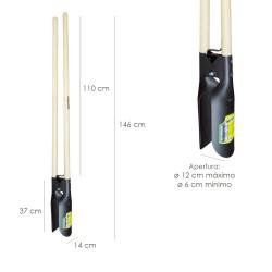 Disco Diamante Maurer Continuo Ladrillo, Baldosas, Ceramica 115 mm.
