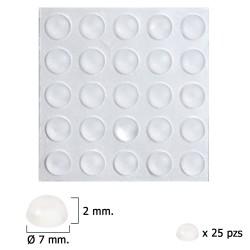 Cilindro Tesa Seguridad T60 /40x40  Latonado